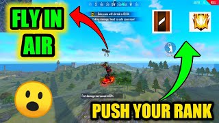 🔥Free fire new bug in Bermuda map | Fly up in the air in free fire | push your rank |