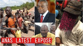 Breaking.. Anas Drops Latest to Expose Kennedy Agyapong on Galamsey Operations..