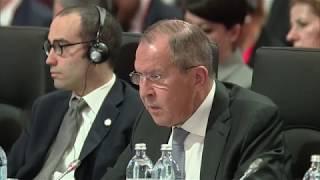 Выступление С.В.Лаврова на 24-м заседании СМИД ОБСЕ