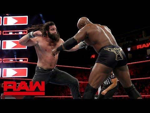 Bobby Lashley vs. Elias: Raw, Sept. 24, 2018