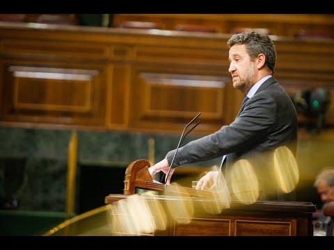 Jaime de Olano interviene en la Sesión de Control