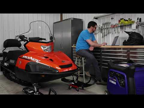 2022 Yamaha Mountain Max LE 154 SL in West Burlington, Iowa - Video 2