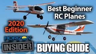 Horizon Insider Buying Guide: Best Beginner RC Planes for 2020!