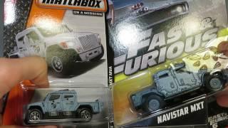 """Mattel """"1:55"""" Fast and Furious 6, 10/32 Navistar MXT"""