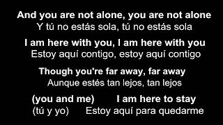 ♥ You Are Not Alone ♥ Tú No Estás Sola~Michael Jackson-subtitulada Inglés/español