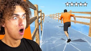 Crossing The SECRET GLASS BRIDGE In GTA 5!