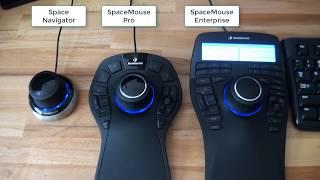 3Dconnexion Controllers Comparison