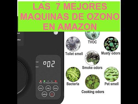 🥇LAS 7 MEJORES MÁQUINAS DE OZONO PARA DESINFECTAR [MAYO 2020]✅EN AMAZON