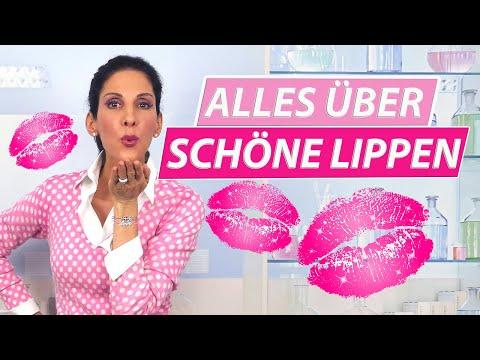 Perfekte Lippenpflege für schöne Lippen
