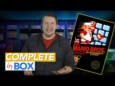 To Truly Understand Super Mario Bros., You Need The Box And Manual