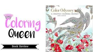 Color Odyssey Coloring Book Review - Chris Garver