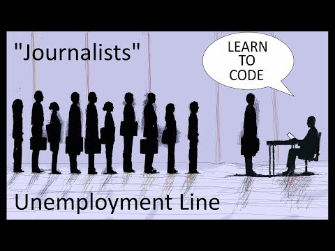 """Internet Tells Laid Off Journalists To """"Learn To Code"""""""