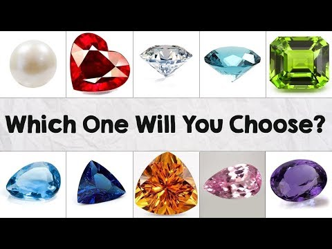 The Gem You Pick Will Reveal Your True Personality