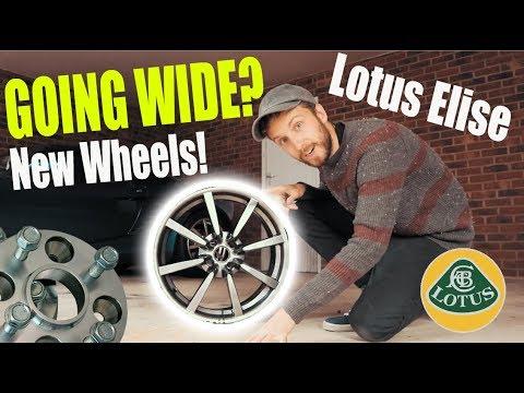 Lotus Elise going WIDE?! * New Wheels * + 3k Giveaway Winners