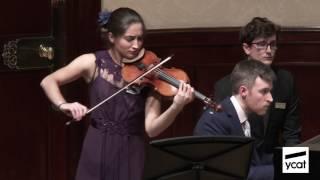 Savitri Grier, Richard Uttley; Enescu Violin Sonata No. 3 in A minor; mov. ii