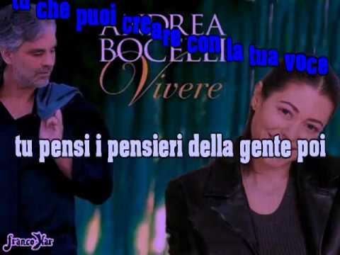 , title : 'Vivere  (Andrea Bocelli/Gerardina Trovato) Versione karaoke'