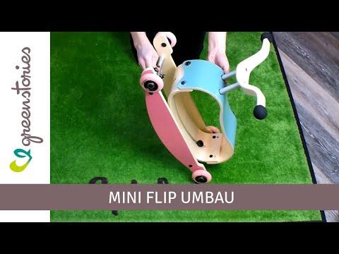 Vorschau: 3in1 Rutschfahrzeug ab 9 Monate - Mini Flip pink/schwarz