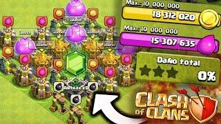 ¡TROLLEANDO con el MAYOR BOTÍN de Clash of Clans!  [ANTRAX] ☣