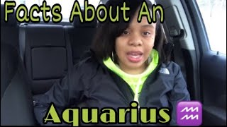 Facts About An Aquarius ♒️