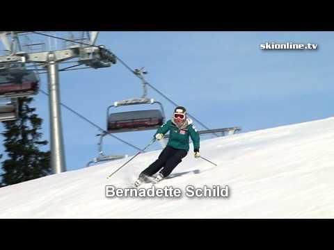 Bernadette Schild ski technique