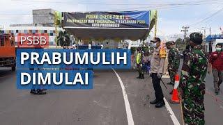 PSBB Kota Prabumulih Dimulai, Warga Tak Jaga Jarak akan Diturunkan dari Kendaraan