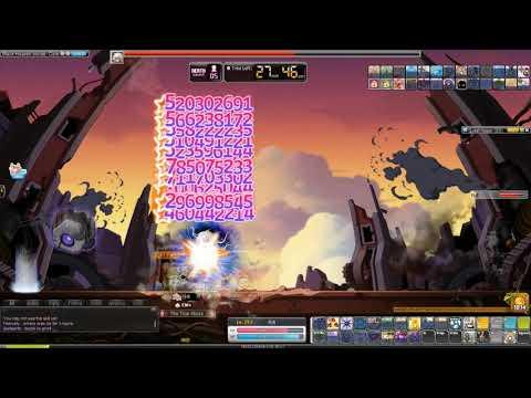 MapleStory Max Damage Bossing! - MasteringGaming - Video