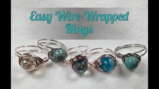 Easy Wire Wrapped Ring Tutorial