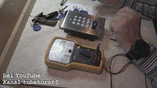 RFID Codeschloss DK 2882 Programmierung u.  Inbetriebnahme von tubehorst1