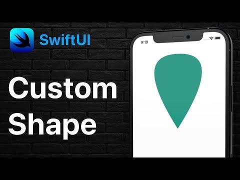 SwiftUI Custom Path Drawing - Map Balloon Shape thumbnail