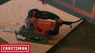 CRAFTSMAN 6 AMP Variable Speed Corded Jig Saw | Tool Overview