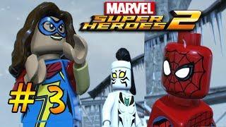 LEGO Marvel Super Heroes 2 — 3 серия — Потрясающее трио против моста анархии [1080p]