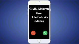 GIMS, Maluma   Hola Señorita (Maria) (Ringtone) (instrumental) (2019)