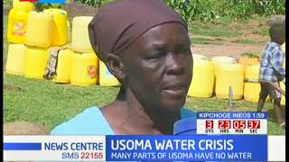 USOMA WATER CRISIS: Many residents of Usoma have no water