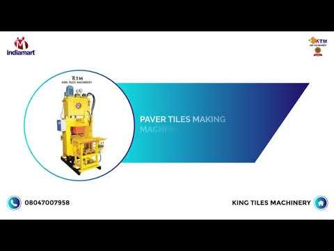 Paver Block Machine Manufacturer
