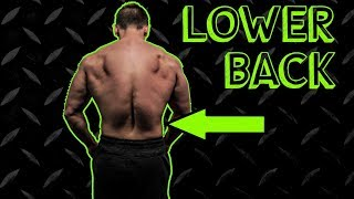 Intense Lower Back Finisher Workout Routine | Anabolic Superset by Anabolic Aliens
