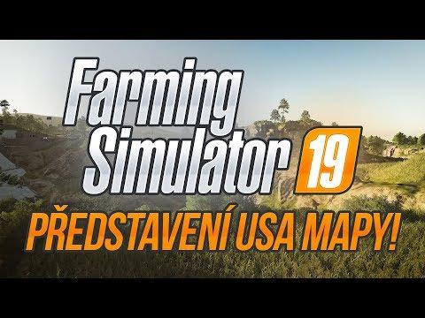 PŘEDSTAVENÍ USA MAPY! | Farming Simulator 19