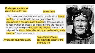 Frankenstein - Lesson 2 - Walton's letters