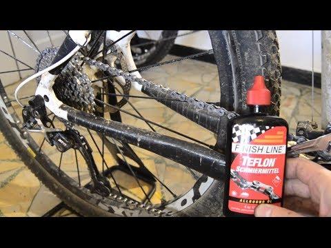 mtbchanneltube - Catena lavaggio lubrificazione e controllo usura - Tutorial MTB
