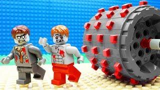 Lego Zombie Jungle Steamroller Fail