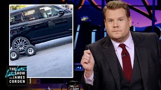 """After the Internet went wild with anger and despair over a video clip of the Carpool Karaoke car being pulled on a trailer, James takes a moment to weigh in with the truth: he drives and he should get a little credit. And James gives a peek of the new season of Carpool Karaoke: The Series - available for free on the Apple TV app: http://www.apple.co/_CarpoolKaraoke  More Late Late Show: Subscribe: http://bit.ly/CordenYouTube Watch Full Episodes: http://bit.ly/1ENyPw4 Facebook: http://on.fb.me/19PIHLC Twitter: http://bit.ly/1Iv0q6k Instagram: http://bit.ly/latelategram  Watch The Late Late Show with James Corden weeknights at 12:35 AM ET/11:35 PM CT. Only on CBS.  Get new episodes of shows you love across devices the next day, stream live TV, and watch full seasons of CBS fan favorites anytime, anywhere with CBS All Access. Try it free! http://bit.ly/1OQA29B  --- Each week night, THE LATE LATE SHOW with JAMES CORDEN throws the ultimate late night after party with a mix of celebrity guests, edgy musical acts, games and sketches. Corden differentiates his show by offering viewers a peek behind-the-scenes into the green room, bringing all of his guests out at once and lending his musical and acting talents to various sketches. Additionally, bandleader Reggie Watts and the house band provide original, improvised music throughout the show. Since Corden took the reigns as host in March 2015, he has quickly become known for generating buzzworthy viral videos, such as Carpool Karaoke."""""""