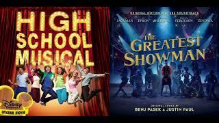 Zac Efron/Zendaya/Vanessa Hudgens - Rewrite the Stars & Breaking Free - HSM/The Greatest Showman