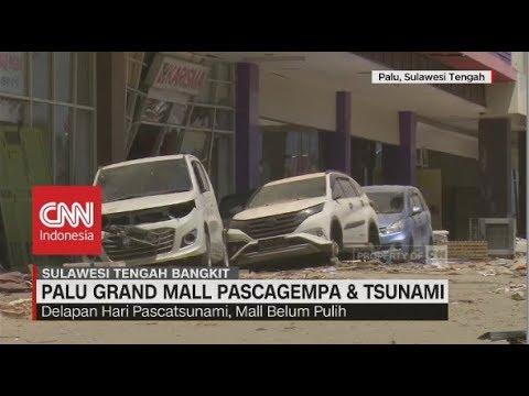 Kondisi Terkini 'Palu Grand Mall' Pascagempa & Tsunami