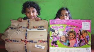 Unboxing Pop Up Tent || Tata Sky Zeetos Reward Unboxing || New Tata Sky Zeetos Toy Toy Unboxing
