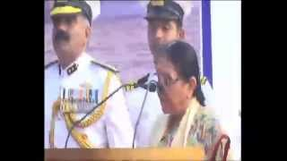 preview picture of video 'Hon'ble CM dedicates two new ships at Porbandar'