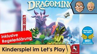 Dragomino – Kinderspiel im Let's Play und Regelerklärung
