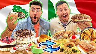 LEBANESE & ITALIAN SWAP DESSERTS FOOD
