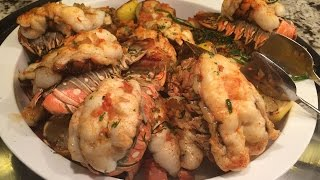 Vegas All You Can Eat Lobster Buffet - Bally's Sterling Brunch - Video Youtube