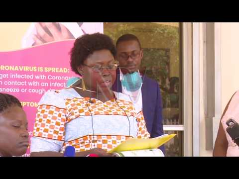 COMBATING COVID-19: IGAD staff donate Ugx 376 million to MOH
