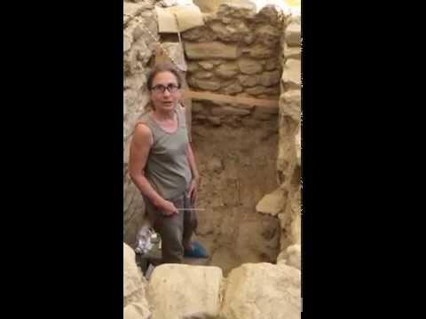 UC's Sharon Stocker in Warrior's Tomb
