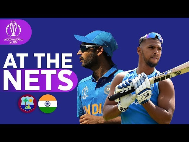 WIN v IND - At The Nets | ICC Cricket World Cup 2019